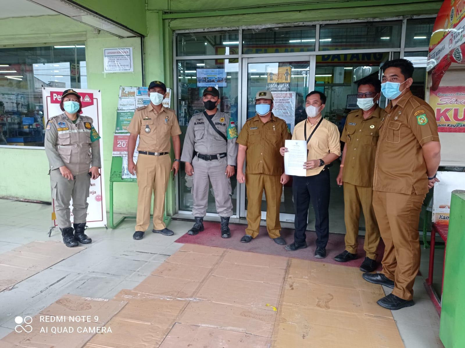 Himbauan Surat Edaran Walikota tentang PPKM Level 4 di Kecamatan Medan Labuhan